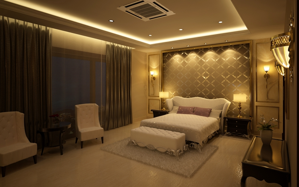 Bedroom In Classic Style Luxury Classical Style Bedroom